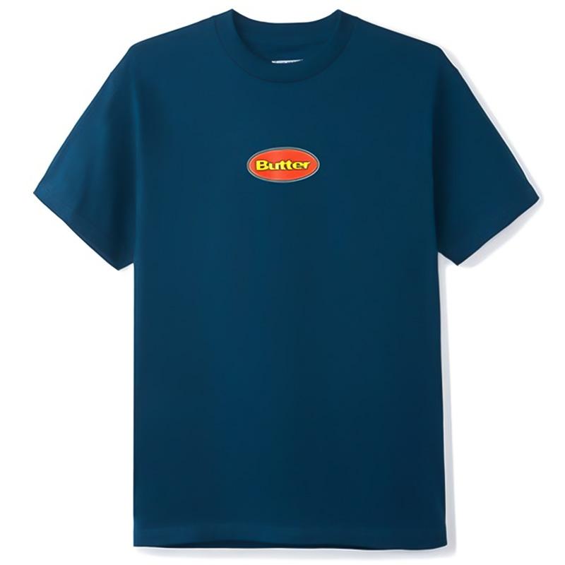 Butter Goods Badge T-Shirt Navy