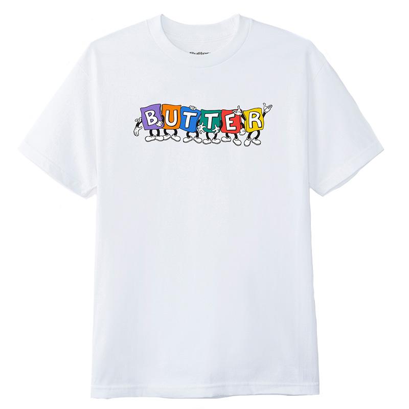 Butter Goods Beanbag T-Shirt White