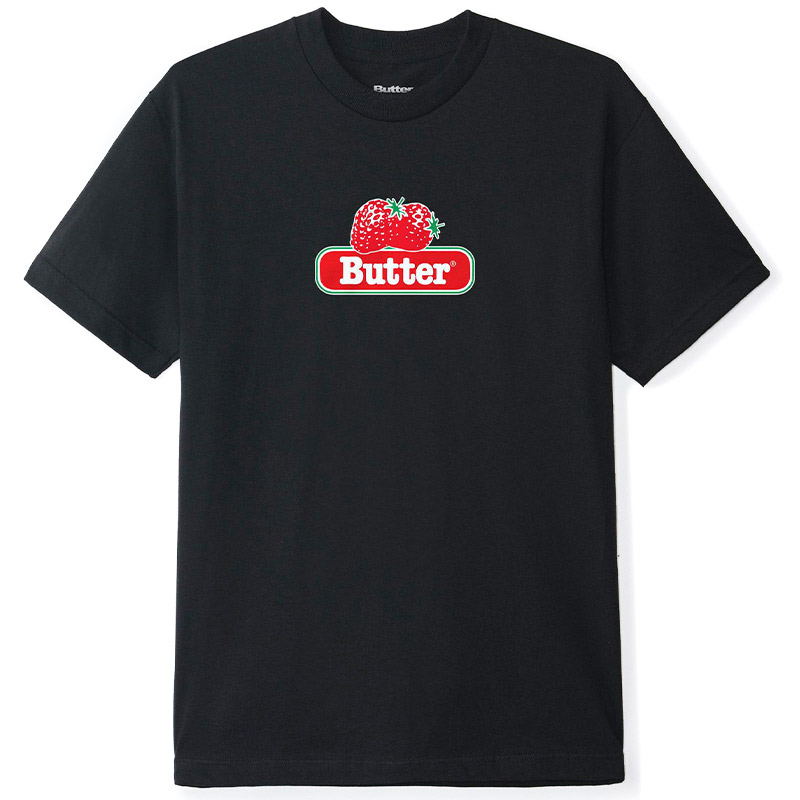 Butter Goods Berry T-Shirt Black