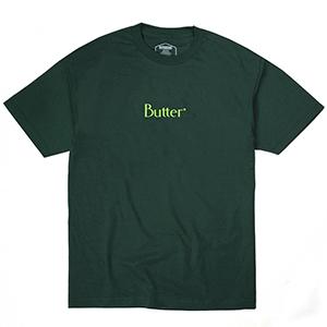 Butter Goods Classic Logo T-Shirt Forest