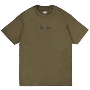 Butter Goods Classic Logo T-Shirt Military Green