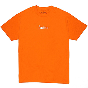 Butter Goods Classic Logo T-Shirt Orange
