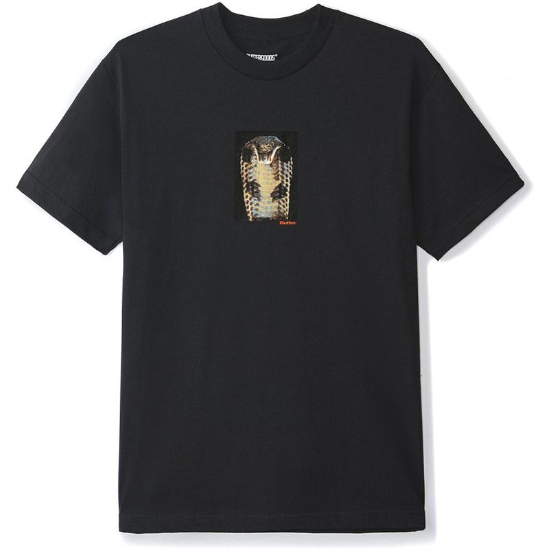 Butter Goods Cobra T-Shirt Black