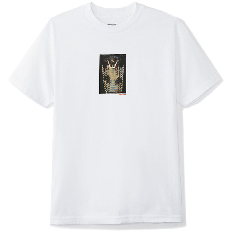 Butter Goods Cobra T-Shirt White