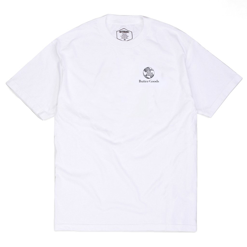 Butter Goods Corner T-Shirt White