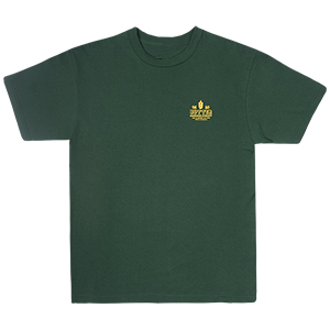 Butter Goods Dynasty T-Shirt Forest Green