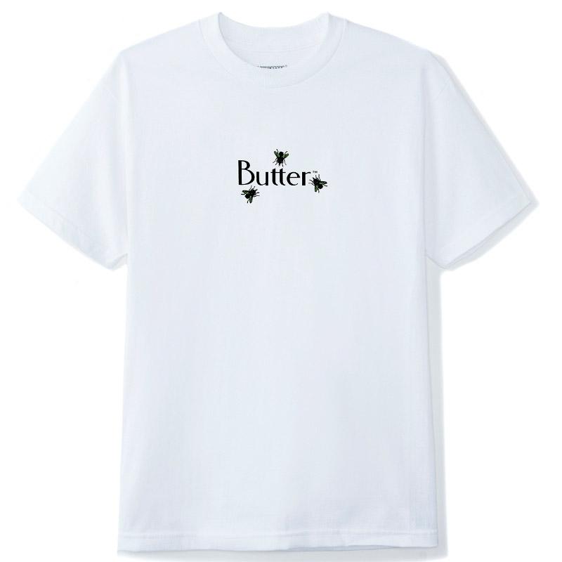 Butter Goods Fly Classic Logo T-Shirt White
