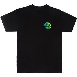 Butter Goods Gradient Worldwide Logo T-Shirt Black