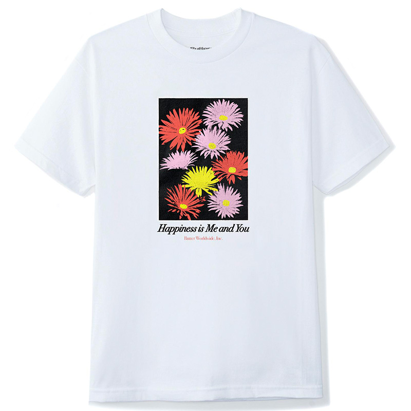 Butter Goods Happiness T-Shirt White