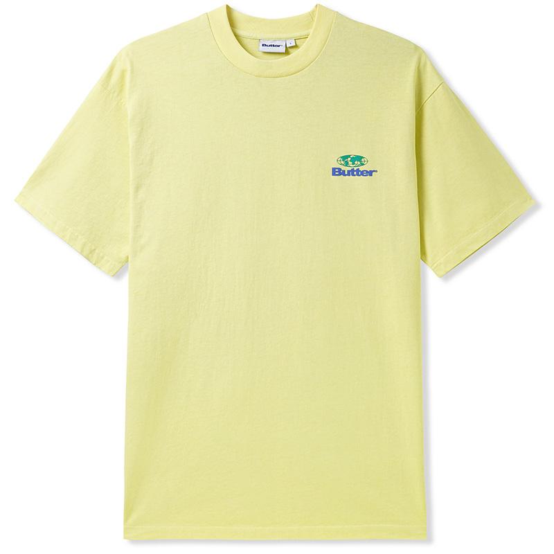 Butter Goods Heavyweight Pigment Dye T-shirt Pistachio