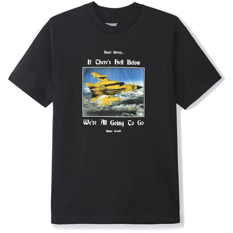 Butter Goods Hell Below T-Shirt Black
