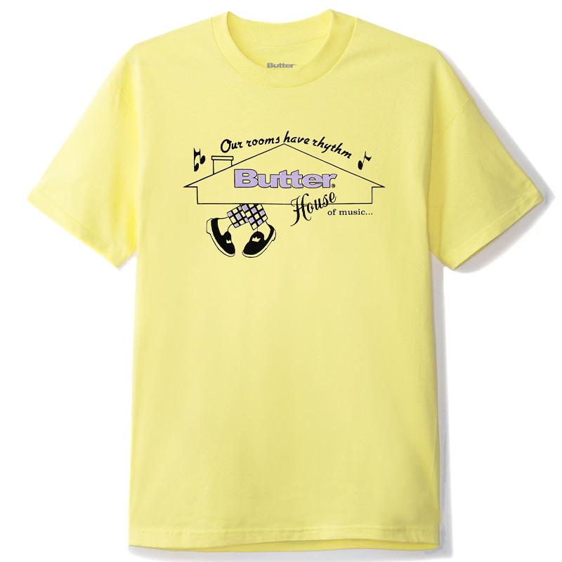 Butter Goods House Of Music T-Shirt Banana