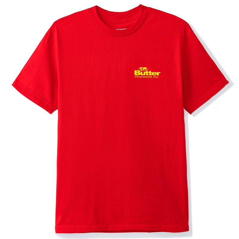 Butter Goods Incorporated T-Shirt Red
