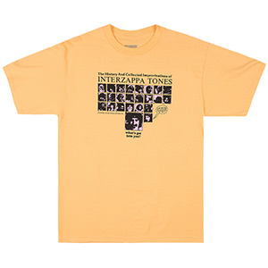 Butter Goods Interzappa Tones T-Shirt Squash