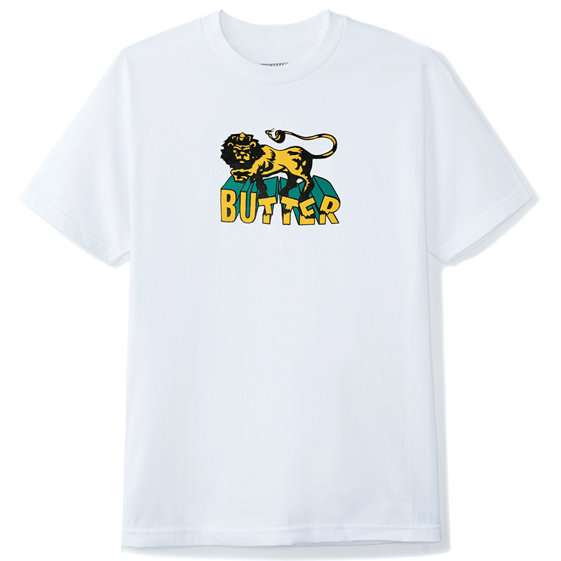 Butter Goods Jah T-Shirt White