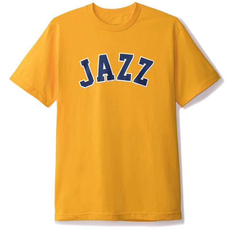 Butter Goods Jazz T-Shirt Gold