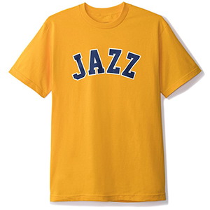 Butter Goods Jazz T-Shirt Gold