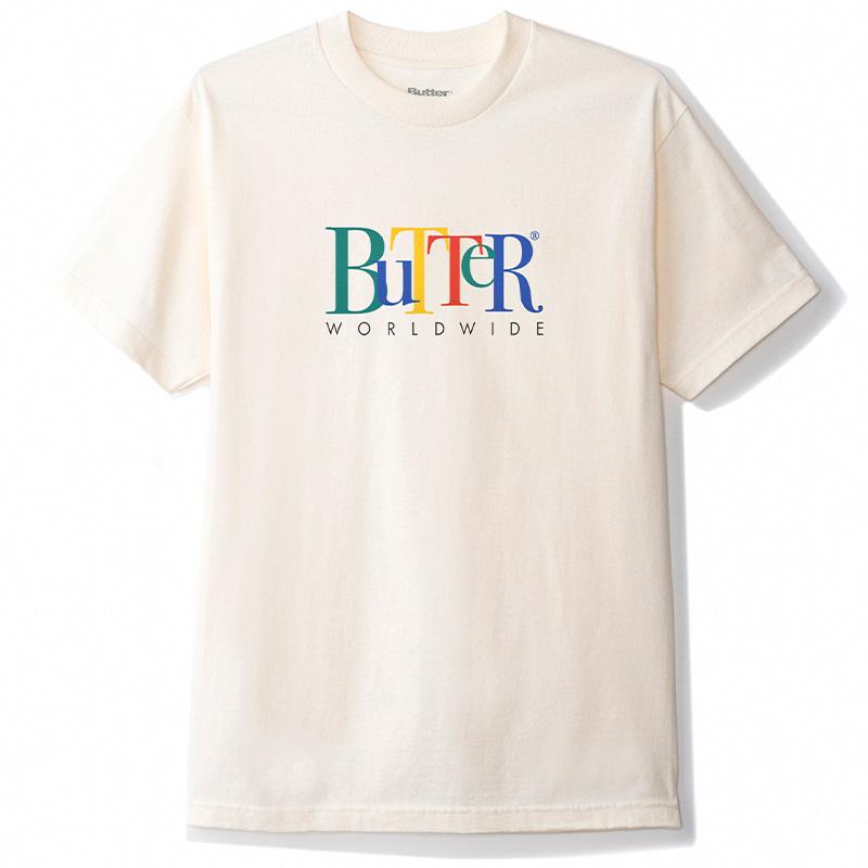 Butter Goods Jumble T-shirt Cream