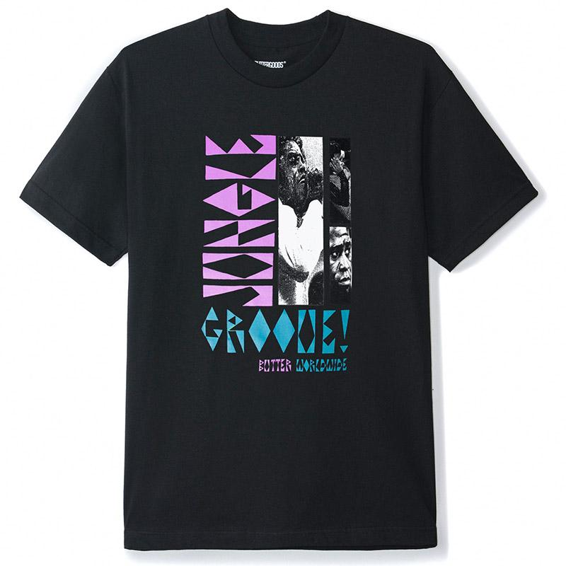 Butter Goods Jungle Groove T-Shirt Black