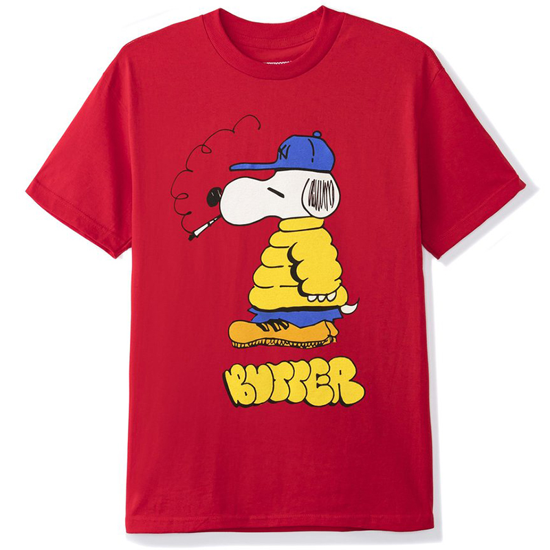 Butter Goods Lo Goose T-Shirt Red