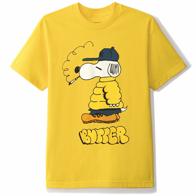 Butter Goods Lo Goose T-Shirt Yellow
