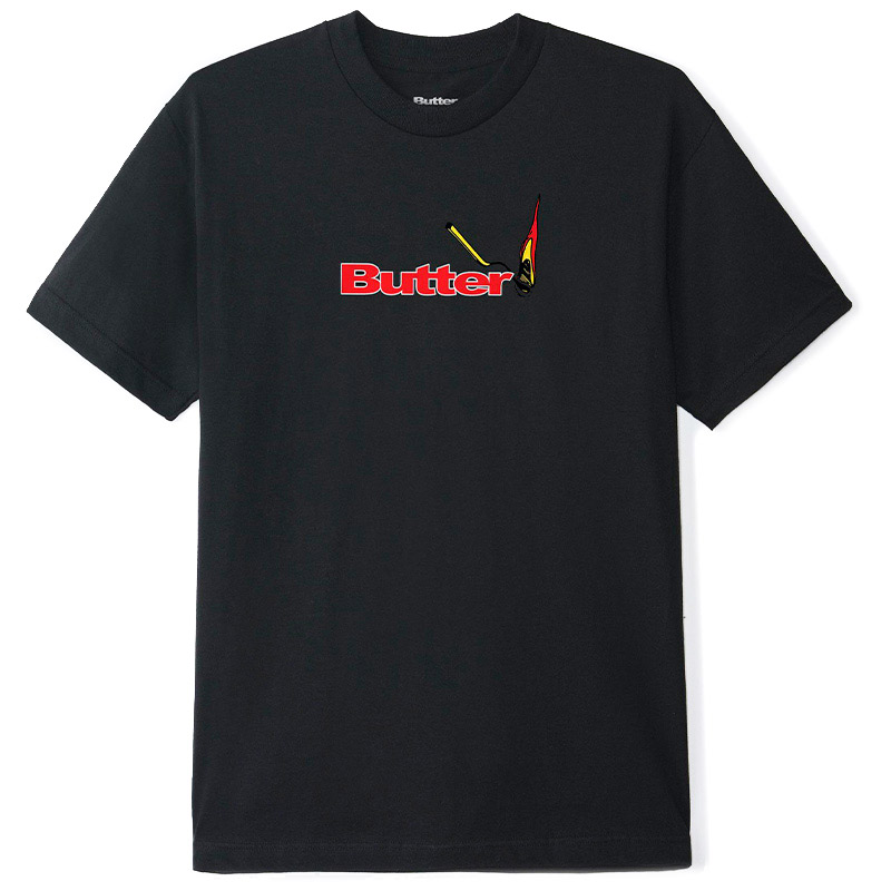 Butter Goods Match T-Shirt Black