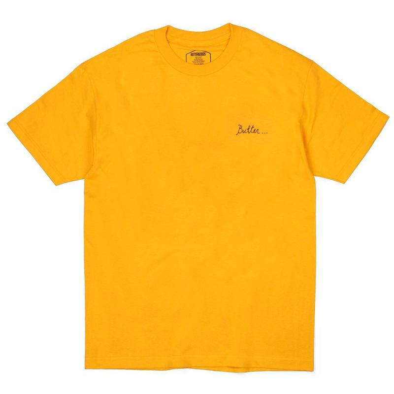 Butter Goods Nevermind T-Shirt Gold