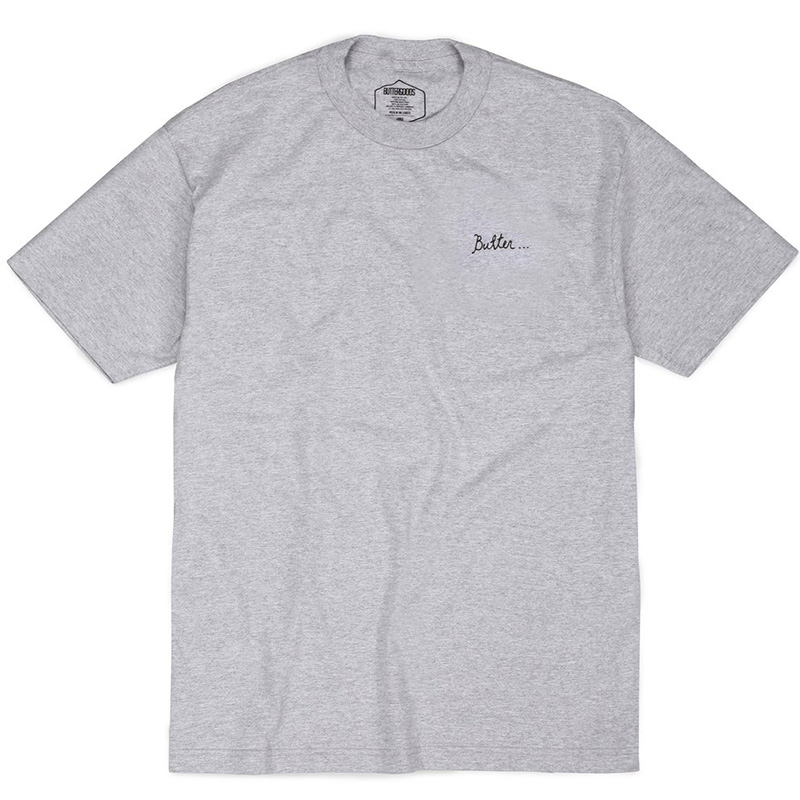 Butter Goods Nevermind T-Shirt Heather Grey