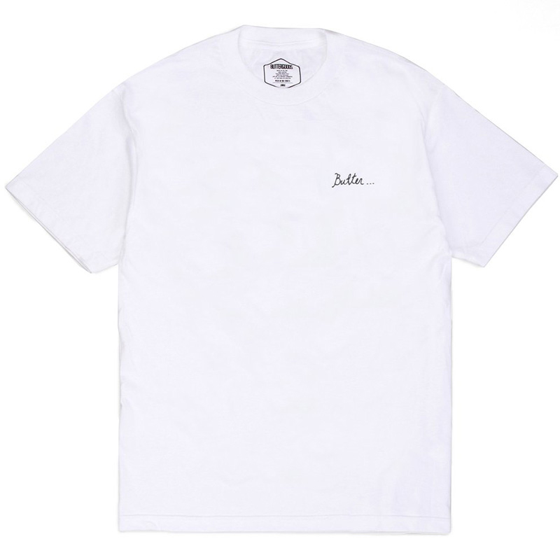 Butter Goods Nevermind T-Shirt White