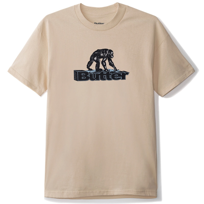 Butter Goods Primate T-Shirt Sand