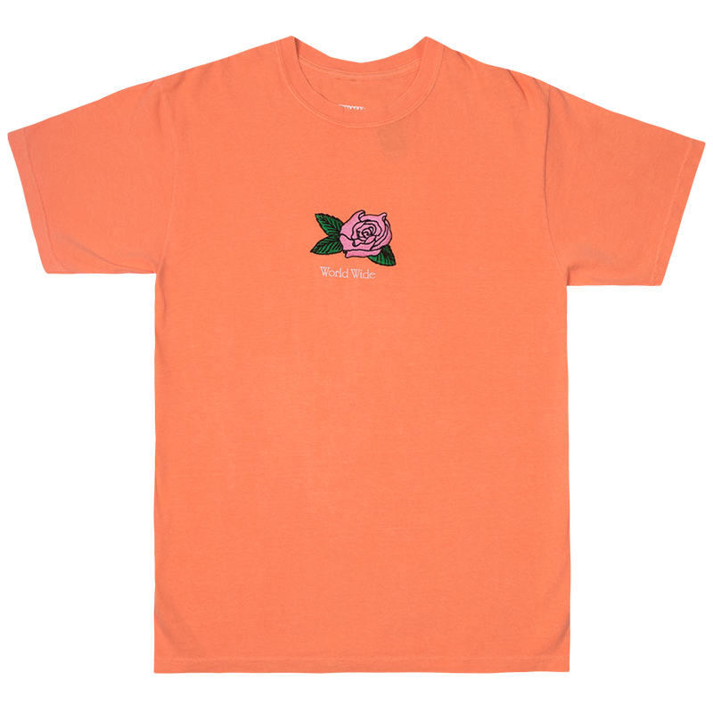 Butter Goods Rosa Pigment Dye T-Shirt Melon