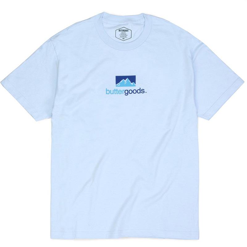 Butter Goods Search T-Shirt Powder Blue
