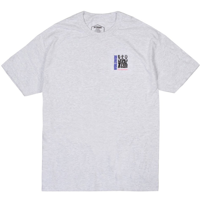 Butter Goods Temple T-Shirt Ash Grey