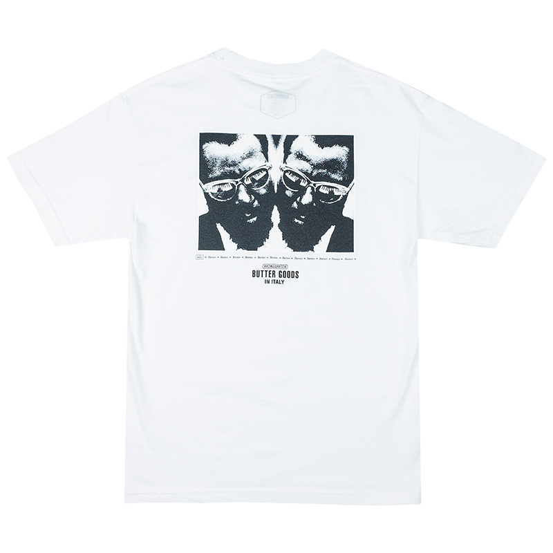 Butter Goods Thelonious T-Shirt White