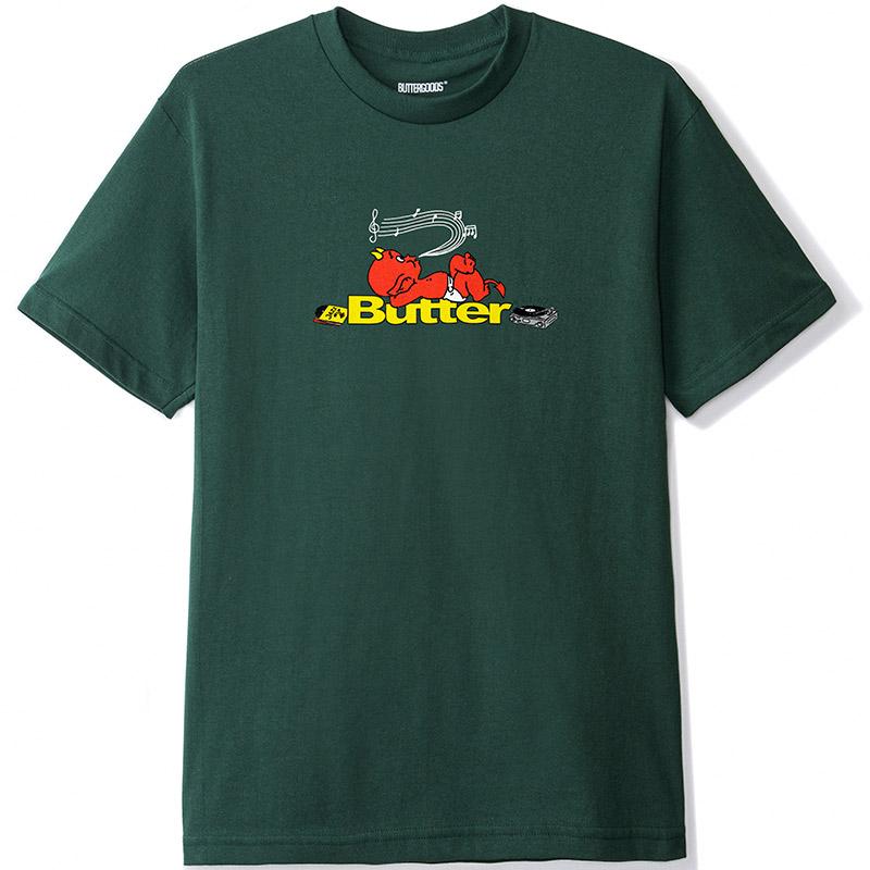 Butter Goods Unwind T-Shirt Forest Green