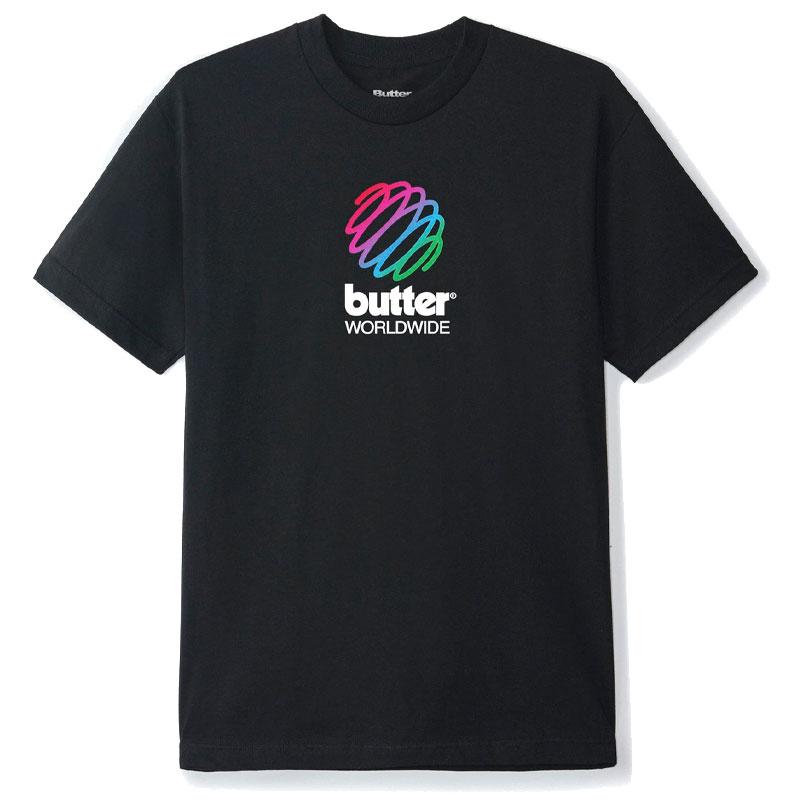 Buttergoods Telecom T-Shirt Black