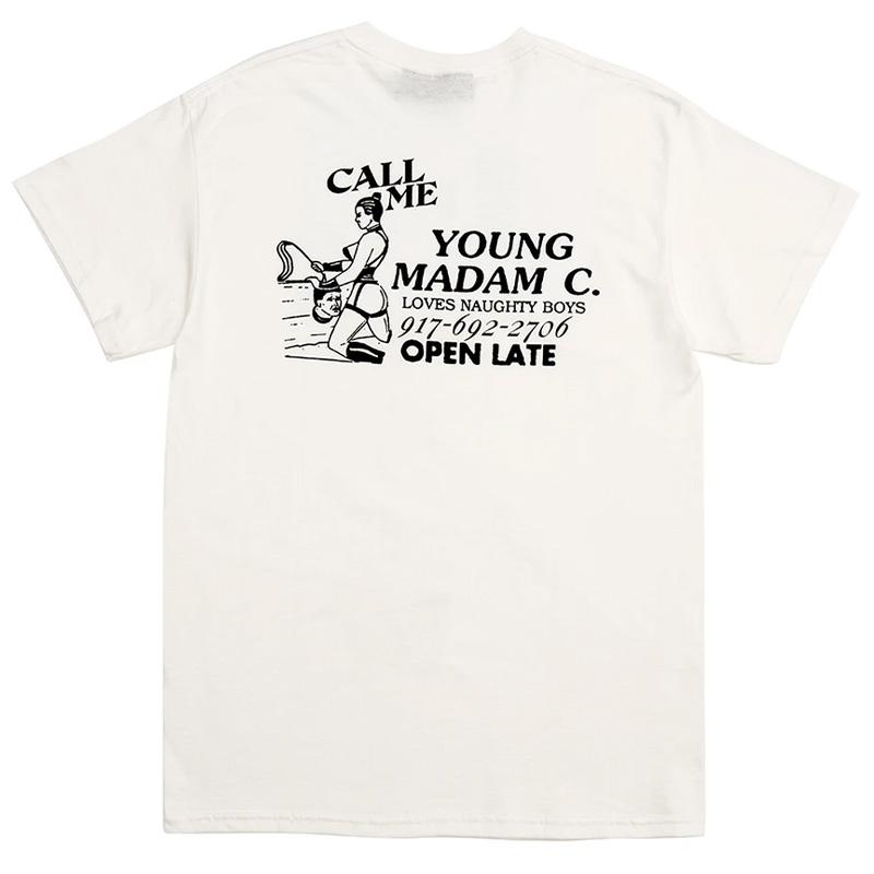 Call Me 917 Madam C Wht T-Shirt White