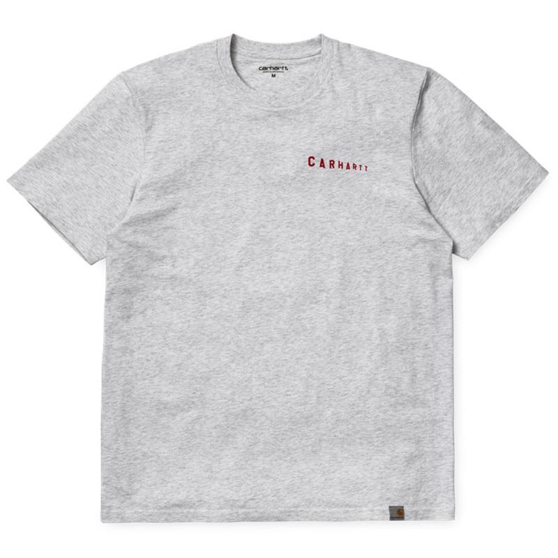 Carhartt  Stairs T-Shirt Ash Heather/Chili