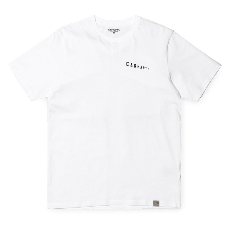 Carhartt  Stairs T-Shirt White/Black