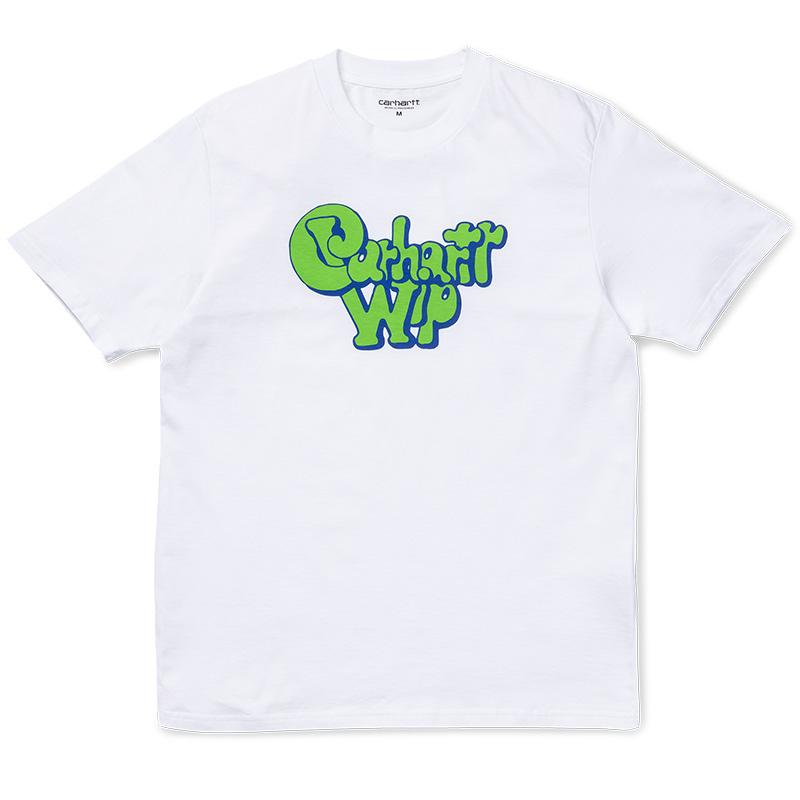 Carhartt Bubble Gum T-Shirt White