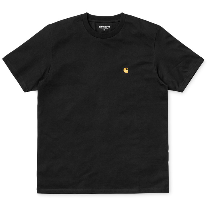 Carhartt Chase T-Shirt Black/Gold