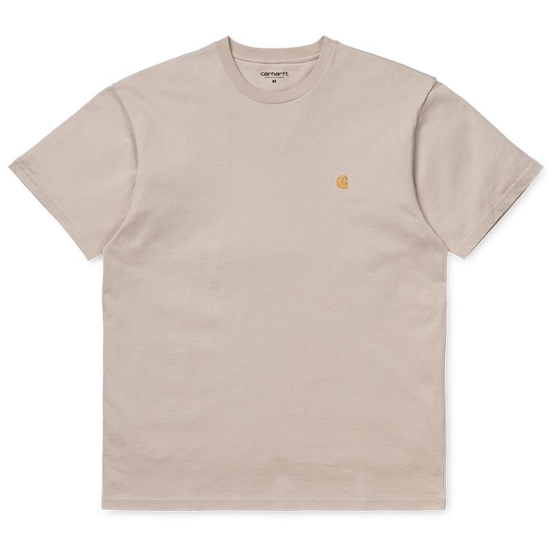 Carhartt Chase T-Shirt Boulder/Gold