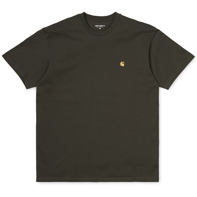 Carhartt WIP Chase T-Shirt Cypress/Gold