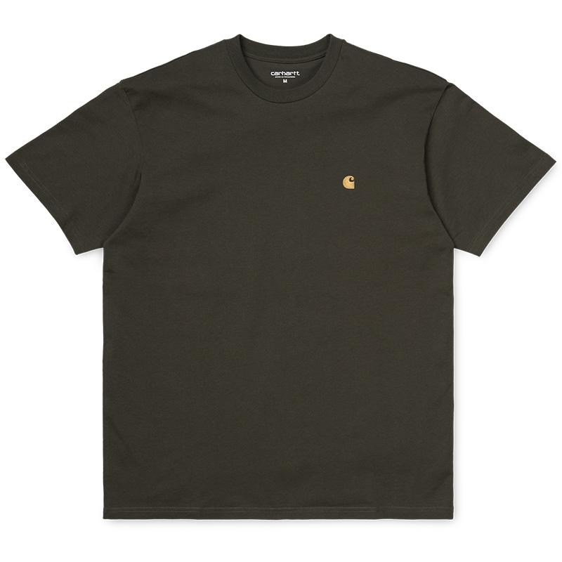 Carhartt Chase T-Shirt Cypress/Gold