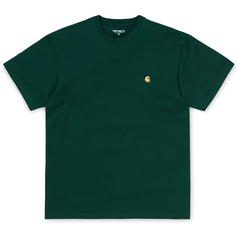 Carhartt WIP Chase T-Shirt Dark Fir/Gold
