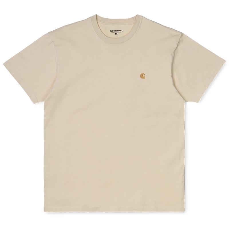 Carhartt Chase T-Shirt Flour/Gold