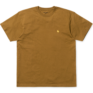 Carhartt Chase T-Shirt Hamilton Brown/Gold
