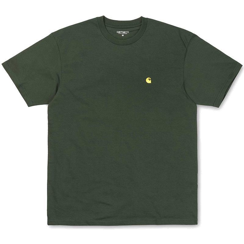 Carhartt WIP Chase T-Shirt Loden/Gold