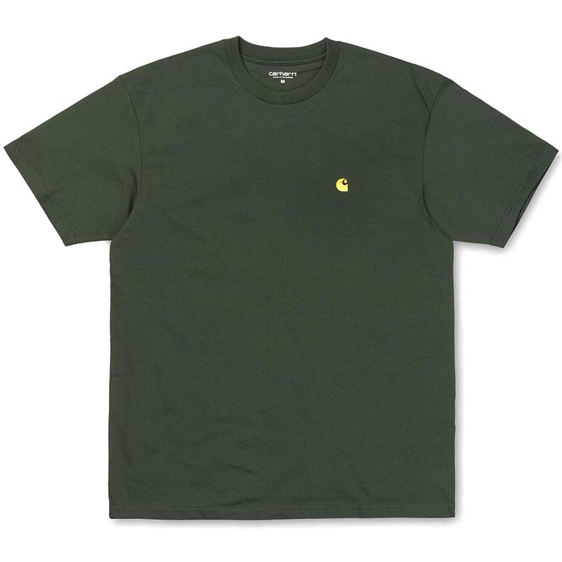 Carhartt Chase T-Shirt Loden/Gold