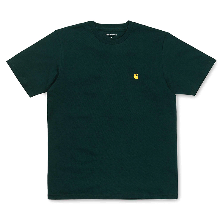 Carhartt Chase T-Shirt Parsley/Gold